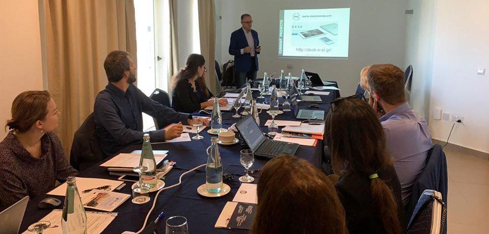 Dissemination of the DESK project in Malta