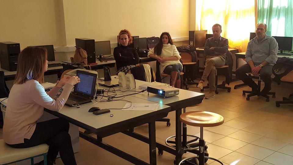 E-SCHOOL promoted the DESK project during the Educational Meeting