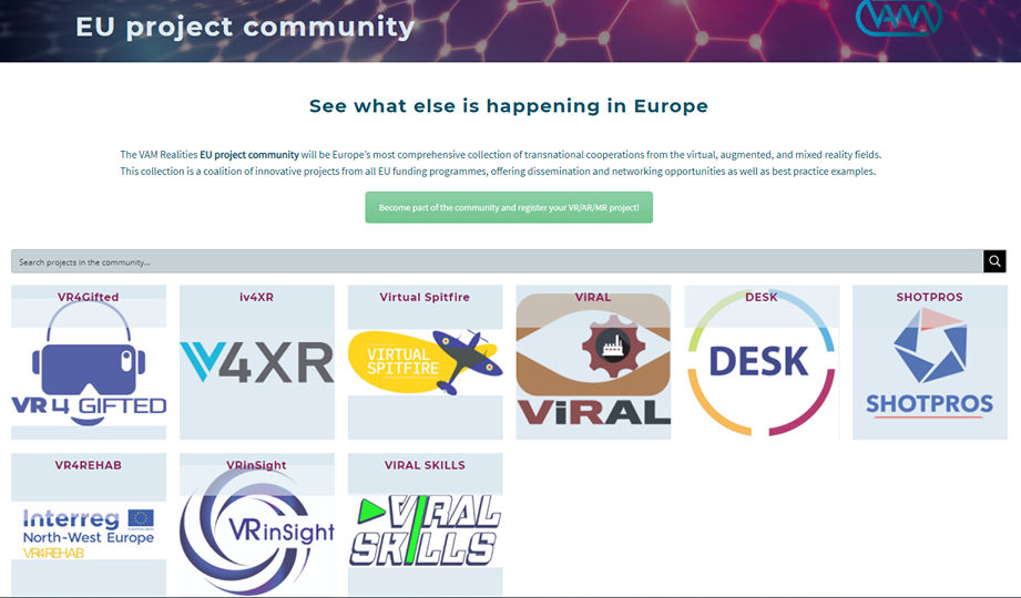 Becoming part of an EU Project Community
