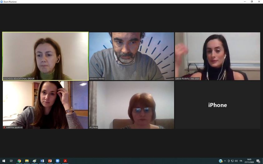 New online meeting for the DESK project