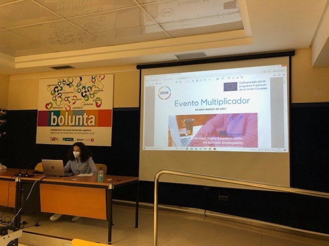 Multiplier Event for the DESK project in Bilbao